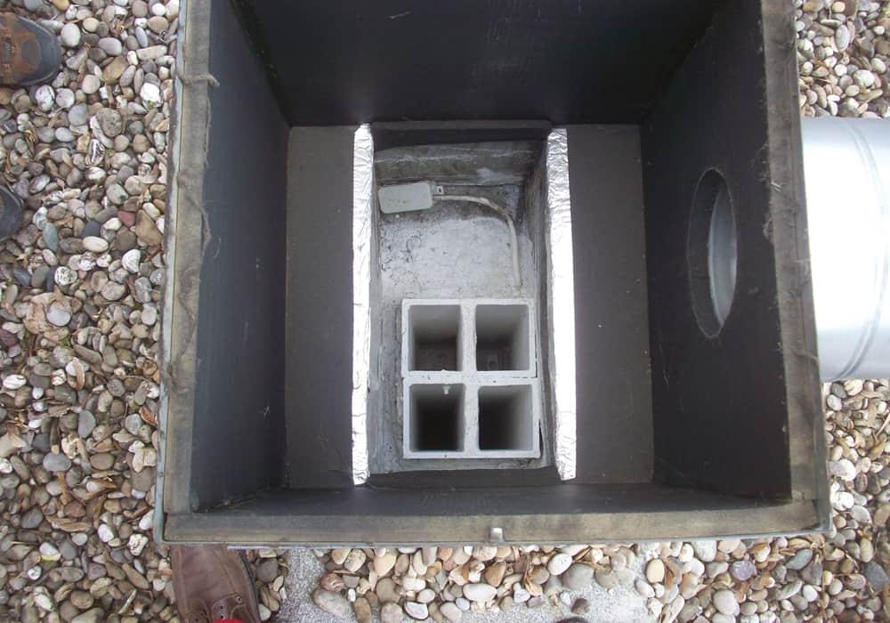 Beschichtung Asbest Abluftkanäle inkl. neue Dachaufbauten