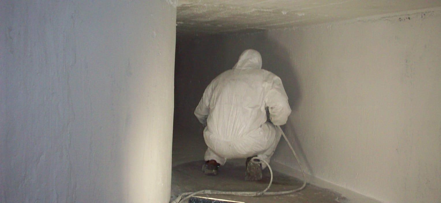 Beschichtung eines gemauerten Schachtes zur Ertüchtigung als Zuluftschacht nach VDI