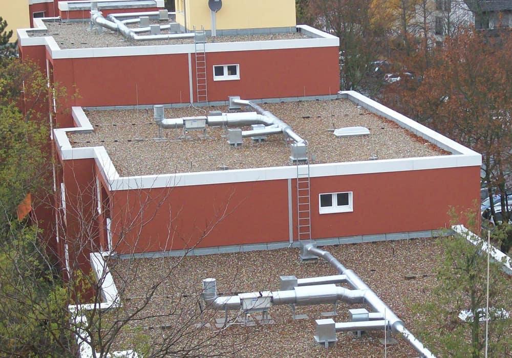 Errichtung Lüftungsanlage im Zuge Sanierung der Kanäle Wohnungsbau