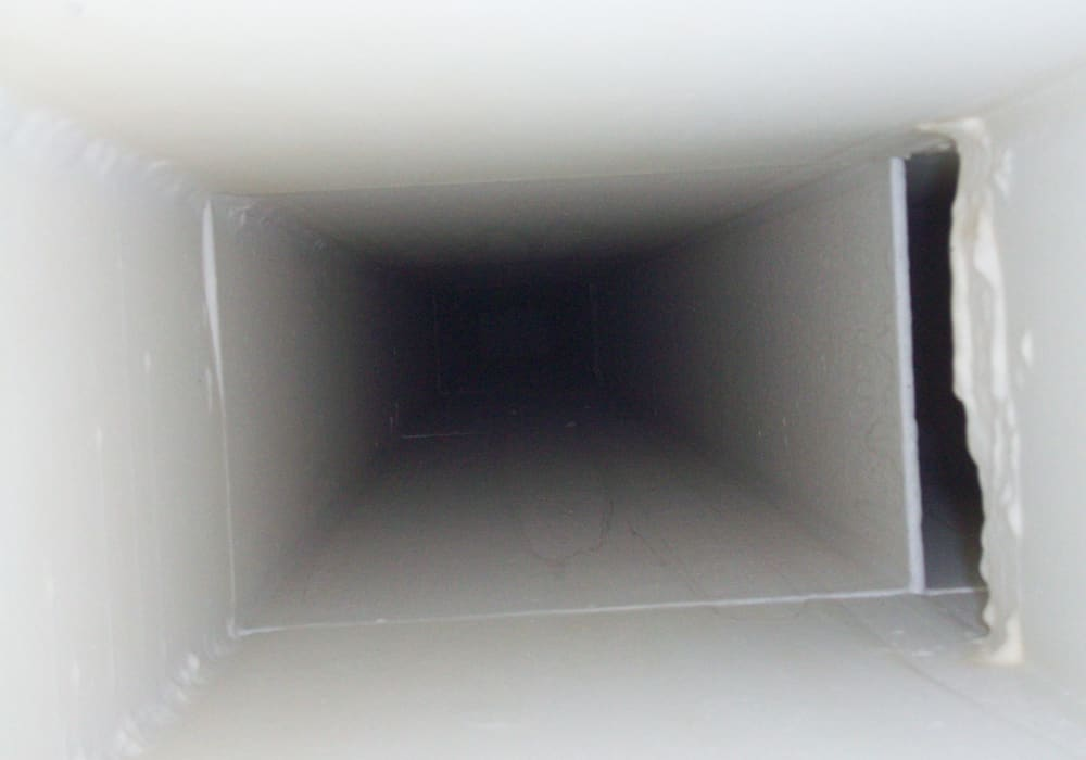 Sanierung Asbest Abluftkanal durch Innenbeschichtung