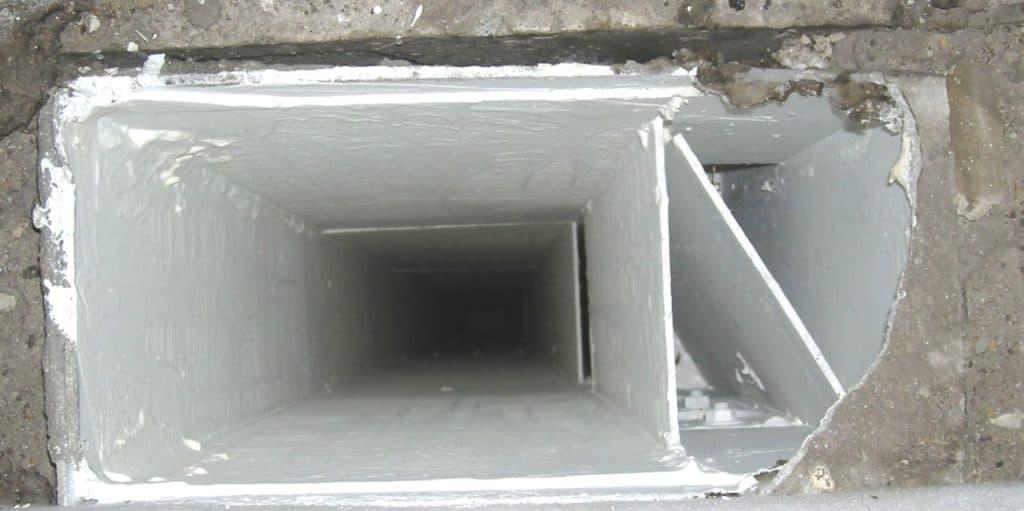 Wohnungsbau Baunatal – Birkenallee - Lüftungskanal - Nacher